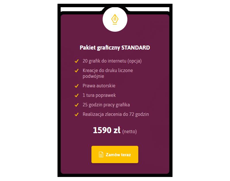 Pakiet graficzny standard - Hitdea agencja reklamowa social media kreatywna Warszawa