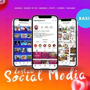 Zestaw Social Media Kit Agencja reklamowa Warszawa